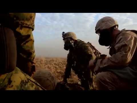 Military News : (+18)  : US MARINES INTENSE LIVE FIRE GAS ATTACK + СOMBA...