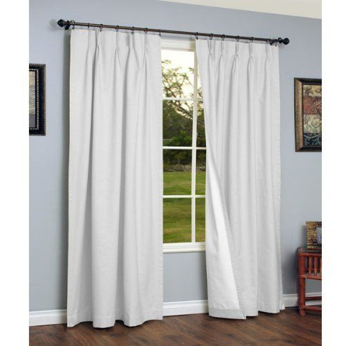 Pinch Pleated Thermal Insulated Drapes: 1000+ Ideas About Pinch Pleat Curtains On Pinterest