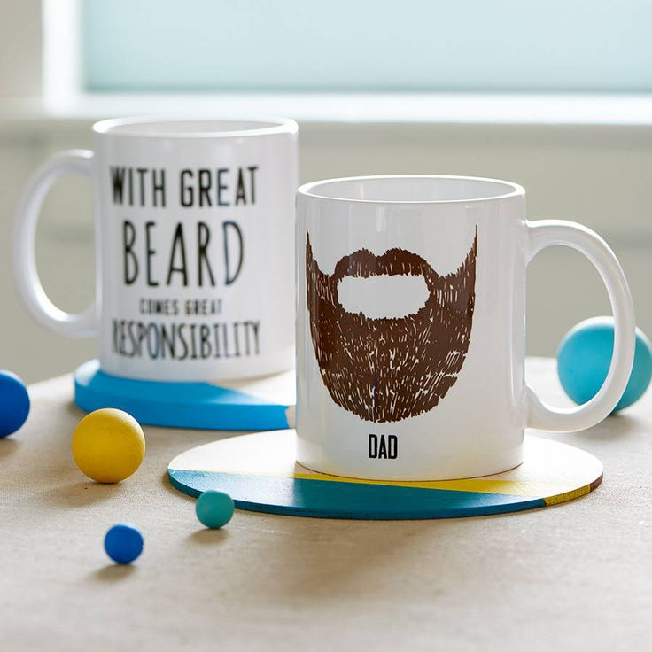 Personalised 'Great Beard' Man Mug from notonthehighstreet.com