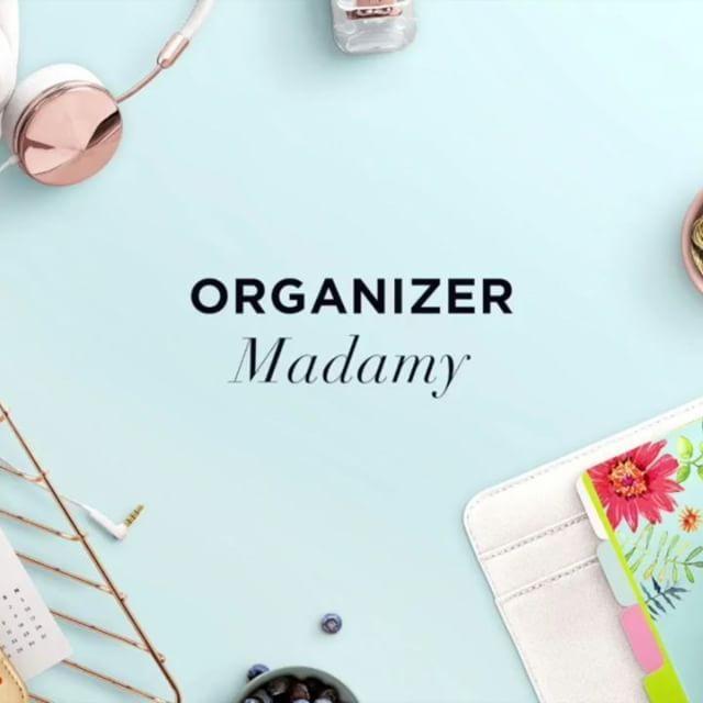 Ola planuje spacer z Organizerem Madamy. A Ty, co zaplanujesz? #madama #madamaco #organizer #organizacja #planowanie #organizermadamy
