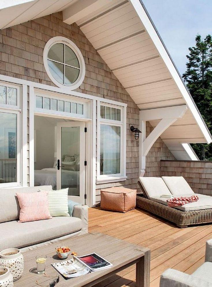 60+ Lovely Lake House Exterior Design Ideas – #Des…