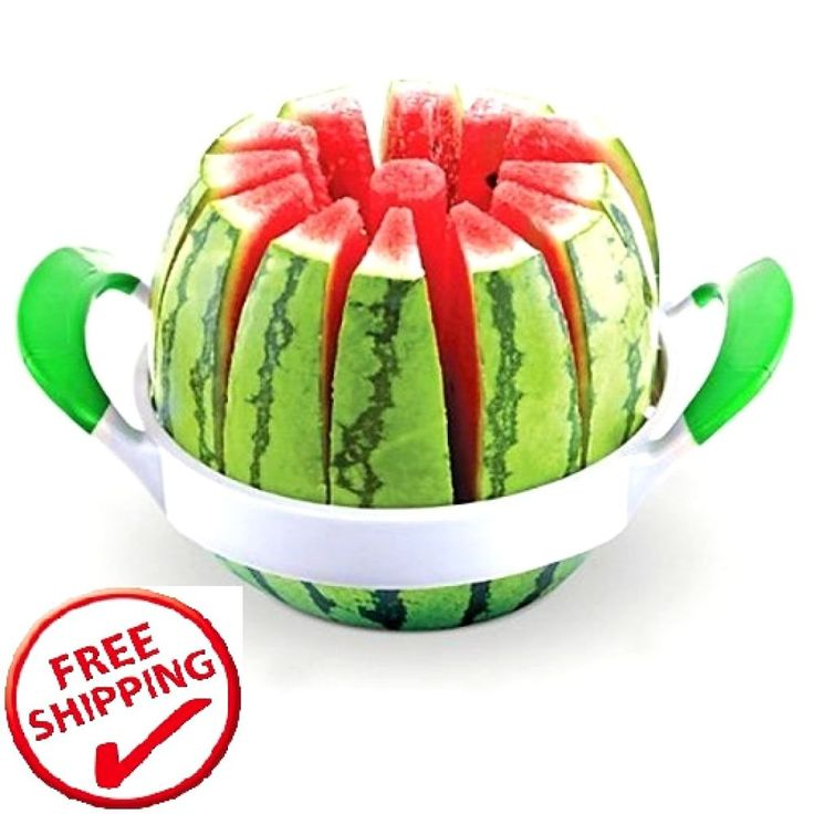 Watermelon cutter Stainless Steel Melon cantaloupe Fruit Slicer Utensils 10Inch #MODERNhome