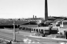 Panorama from New Lynn station signal mast, 05. 1970