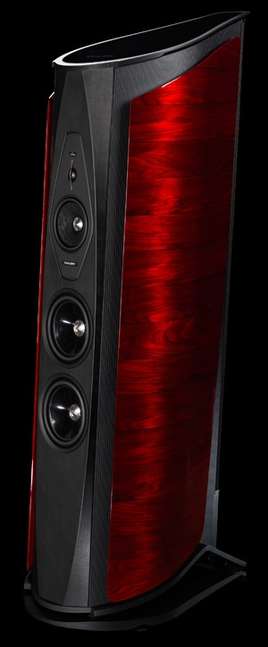 """Sonus Faber """"Aida"""" Loudspeaker.  Spectacular in every way.  For US $120,000, they should be."""