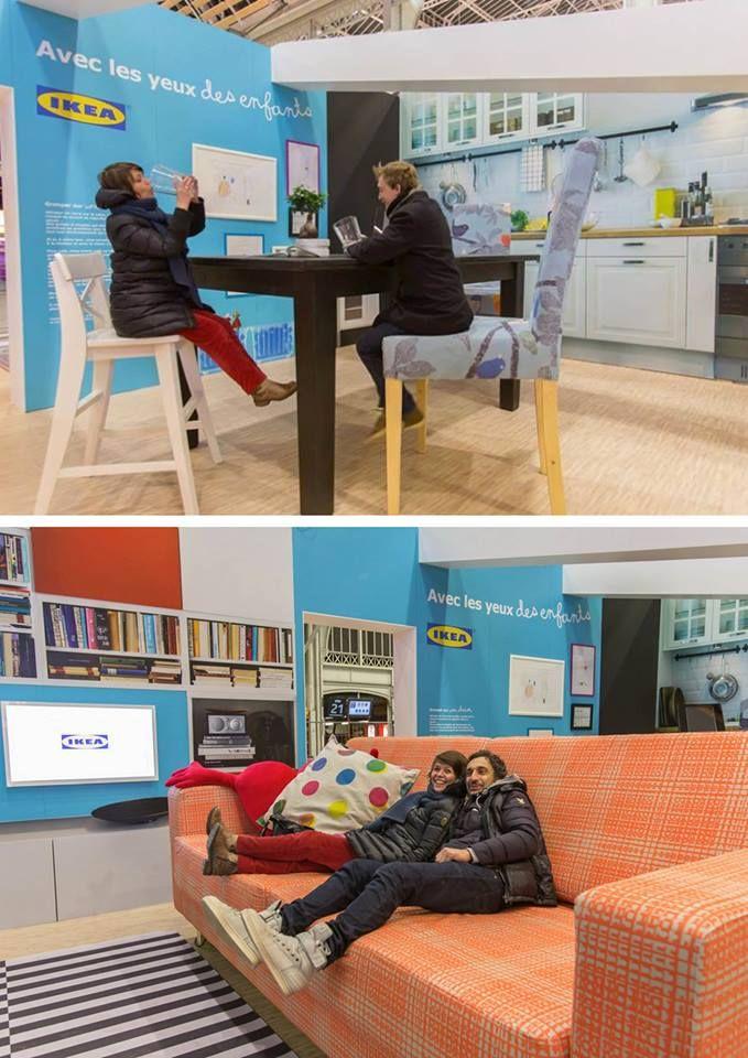 RDV à la Gare de Lyon pour découvrir la maison de géant #IKÉA installée par #UbiBene !