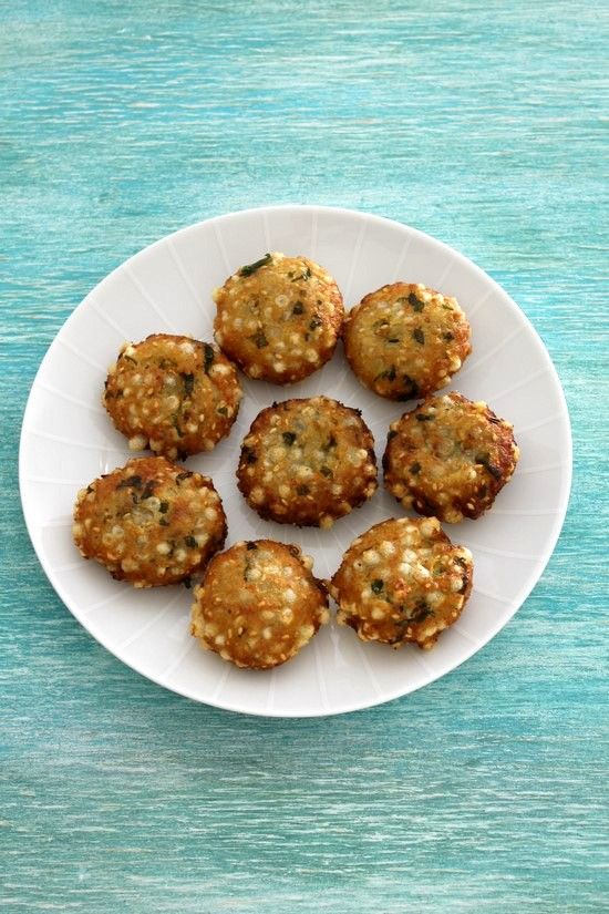 Sweet potato sabudana vada recipe | Sabudana recipe for vrat
