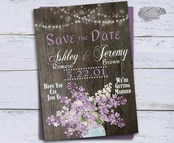 Best 25 Rustic save the dates ideas – Wedding Save the Date Postcards