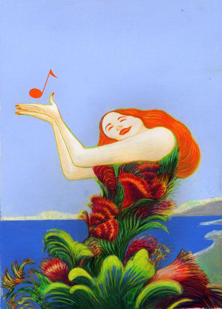 Illustration Sarnremo 2013 by Lorenzo Mattotti