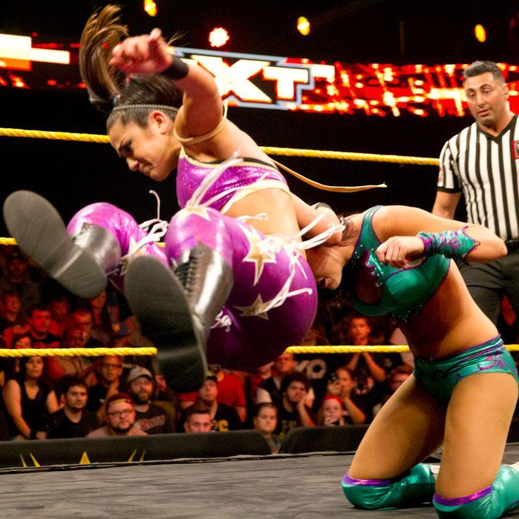 WWE NXT 12/9... Peyton Facebook