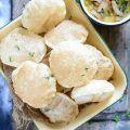 Bengali Luchi Recipe, Bengali Style Fried Puffed Indian Bread