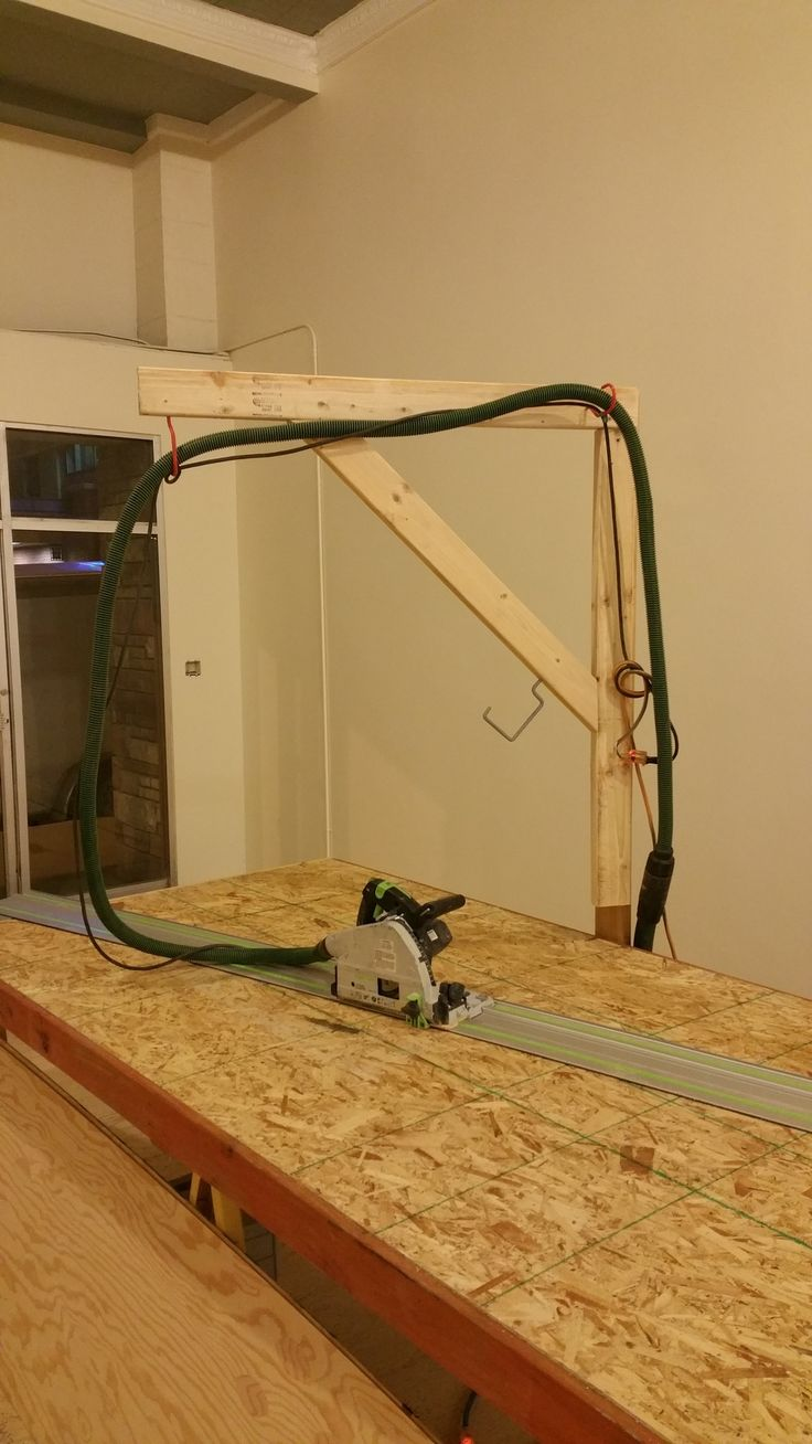 Quickie Job Site Boom arm and work table
