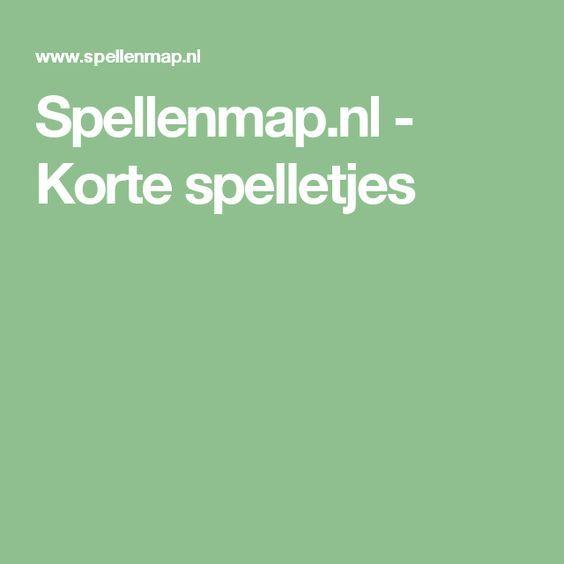 Spellenmap.nl - Korte spelletjes