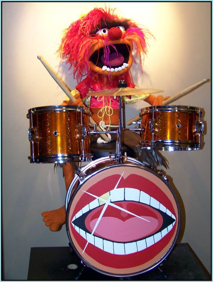 There is no being who epitomizes sex, drums, and rock 'n roll more than the Muppet Show's Animal.