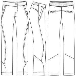 Confeccion de moda para todos Pantalon deportivo 3035 DAMA Pantalones