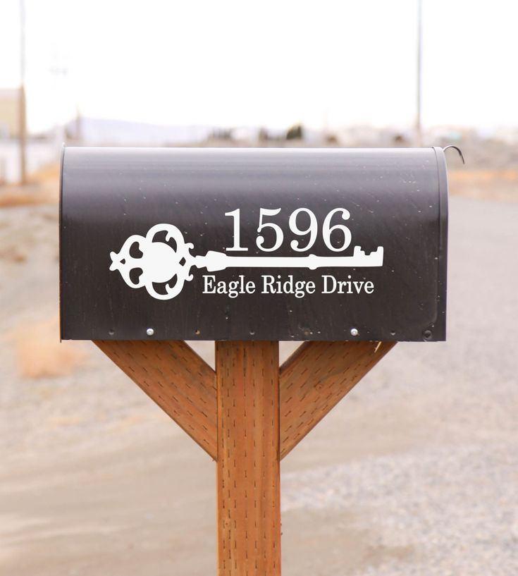 Best Door Mailbox Vinyl Decals By The Vinyl Company Images - Custom vinyl record decals