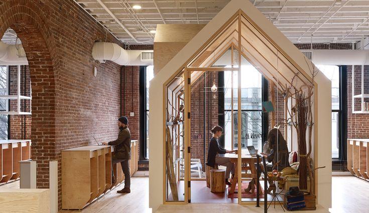 Airbnb's Portland Office Evokes A Sense of Community - Azure Magazine