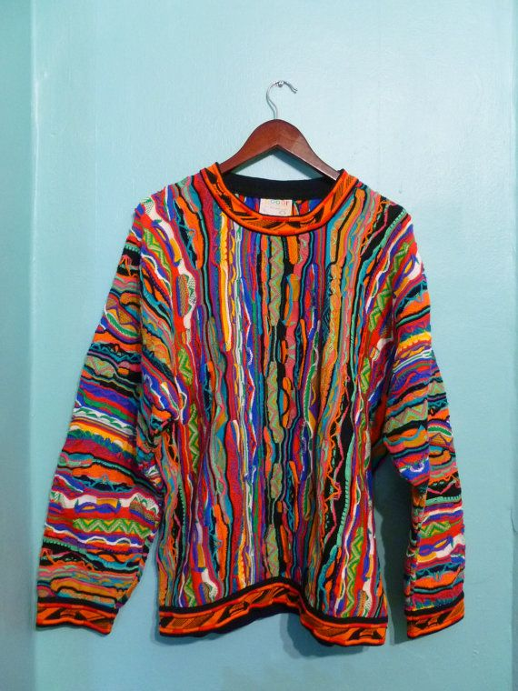 Coogi Sweater Hip Hop by ChicagoGirlVintage, $85.00