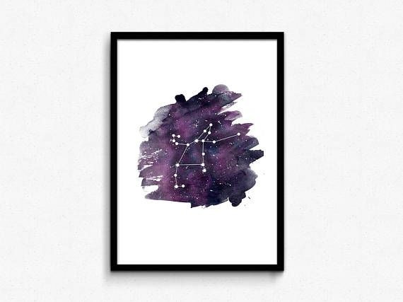 Hey, I found this really awesome Etsy listing at https://www.etsy.com/listing/577299635/perseus-constellation-print-purple