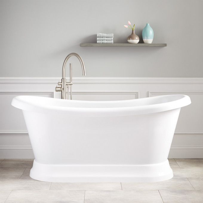 65 Stanek Acrylic Freestanding Tub Refinish Bathtub Acrylic Tub