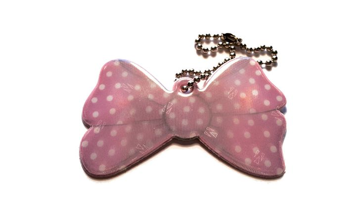 Pink Polka Dot reflector