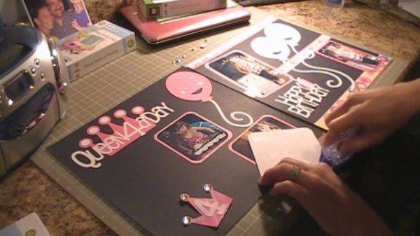 《誕生日》手作りアルバムの作り方♡[友達や彼氏へサプライズ]の画像の詳細です。