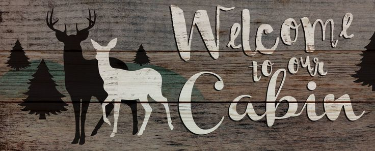 """Hand-assembled with a weathered, antiqued look, this Pallet Wall Sign will bring you and your family back to great times at the lake or cabin. - measures 26"""" x 10.5"""" - rustic, weathered designs - canv"""