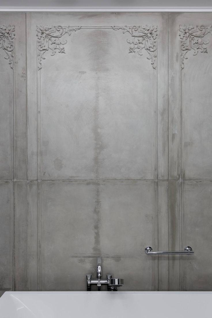 Квартира на Морском проспекте : Ванная комната в стиле модерн от Юдин и Новиков