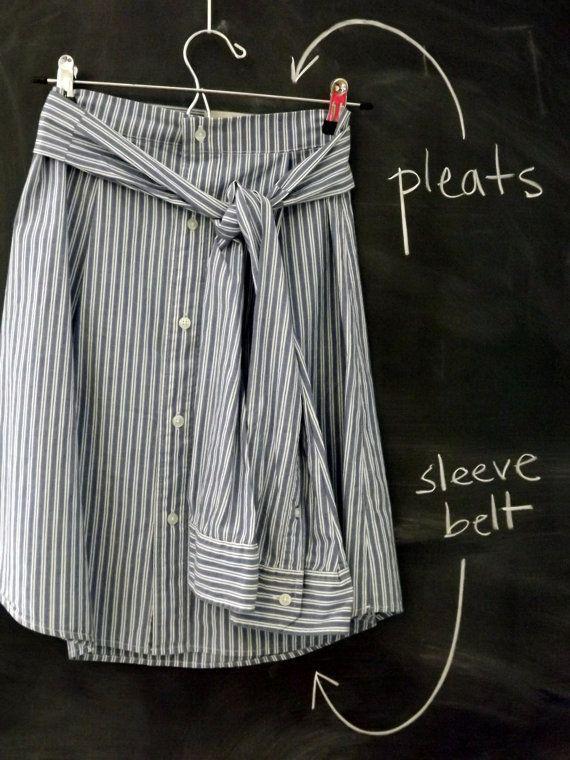 Custom Upcycled Shirt Dress from Your von SlicedAppleStyles auf Etsy, $ 46.00