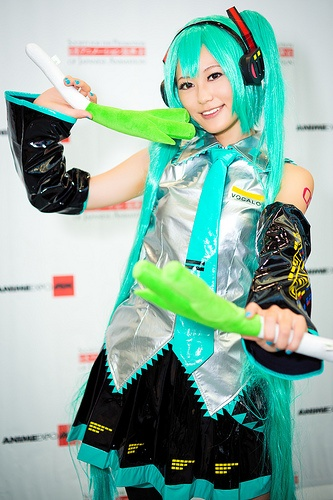 Hatsune Miku from Vocaloid - Anime Expo 2012