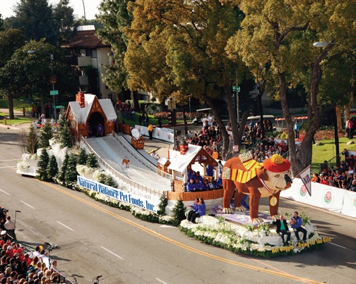 rose parade 2010 our hot doggin going for the gold. Black Bedroom Furniture Sets. Home Design Ideas