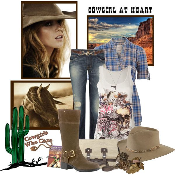 """""""Cowgirl Style"""" by missinbloom on Polyvore"""