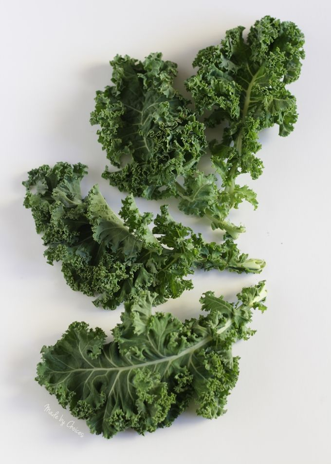 Chips de couve | Kale chips - Made by Choices