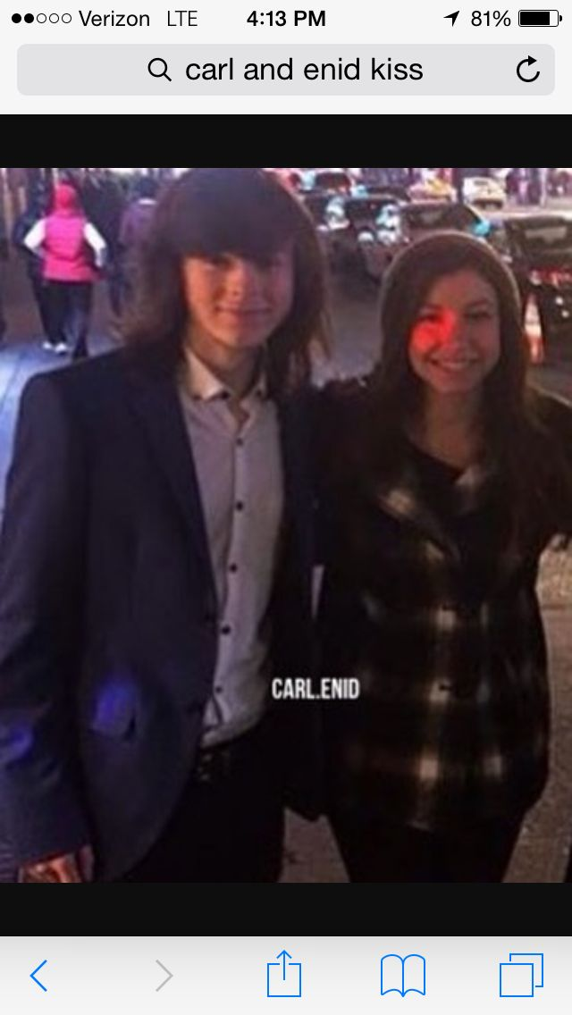 I ship it! (Carl and Enid I mean)