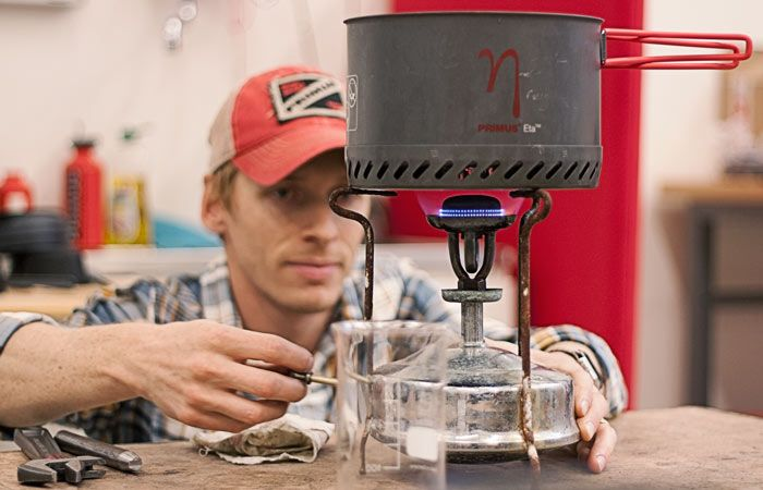 Magnus from our R&D department stumbled upon an old Primus No.2 kerosene stove from the early 1900's when out sailing. He brought it back to the lab to see if he could fix it. Do you think he could? Of course he could. See for yourself at http://www.primus.eu/our-story-109/aspotforprimus/primus-no-2-senior-revived