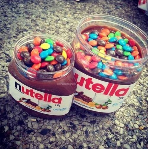 nutella & candy