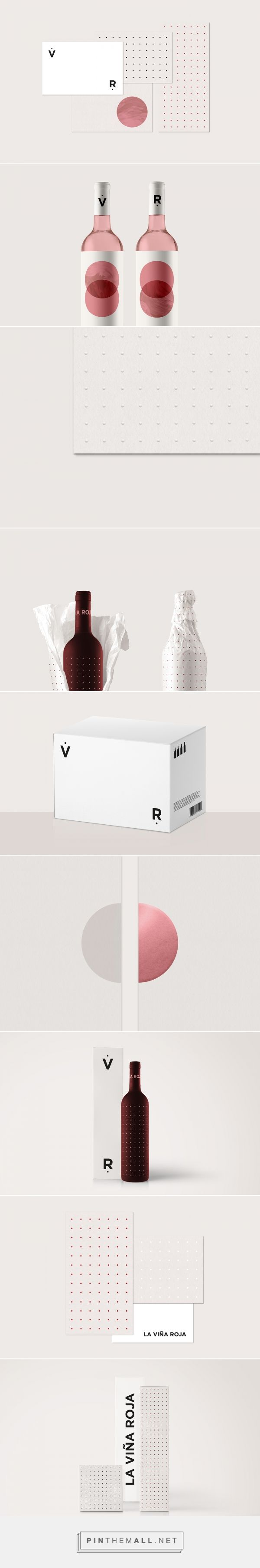 La Viña Roja Wine Branding and Packaging by Maria Hdez | Fivestar Branding Agency – Design and Branding Agency & Curated Inspiration Gallery