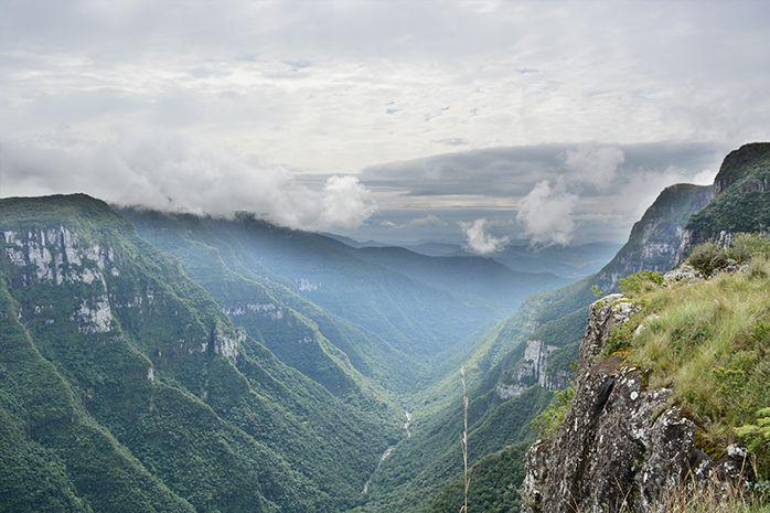 Borda do Canyon Fortaleza