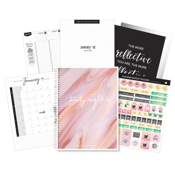 """""""Mineral Dreams"""" 2018 Deen Daily Planner!"""