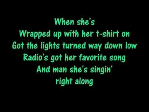 Brantley Gilbert- Whenever We're Alone (Lyrics on screen)
