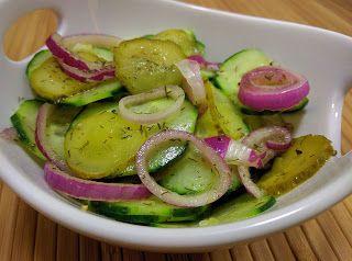 Gurken-Gurken-Salat