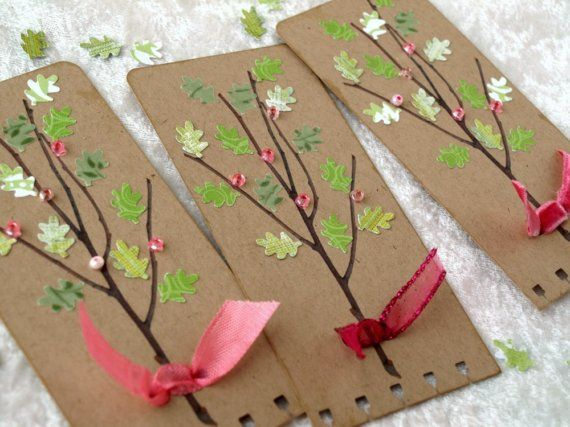 Branches and Blossoms Tag by psitsinthedetails on Etsy