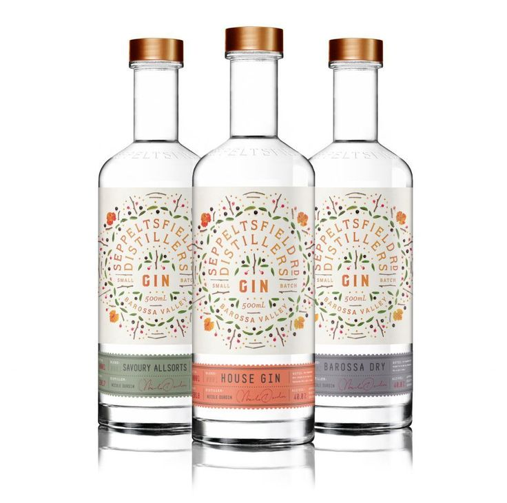 35 Gorgeous Gin Packaging Designs