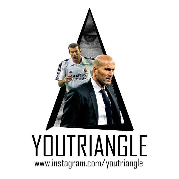"""Youtriangle ∆ #Zidane Zinedine Yazid Zidane (born 23 June 1972), nicknamed """"Zizou"""", is a retired French footballer and current manager of Real Madrid. He played as an attacking midfielder for the France national team, Cannes, Bordeaux, Juventus and Real Madrid. An elite playmaker, renowned for his elegance, vision, ball control and technique, Zidane was named the best European footballer of the past 50 years in the UEFA Golden Jubilee Poll in 2004. He is widely regarded as one of the…"""