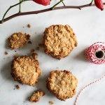 Coconut oatmeal cookies/Kokos haver koekjes