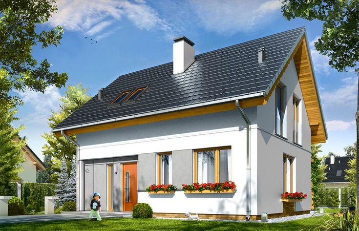 Projekt domu Ania - pracownia MG Projekt  #mgprojekt #projekt #domy