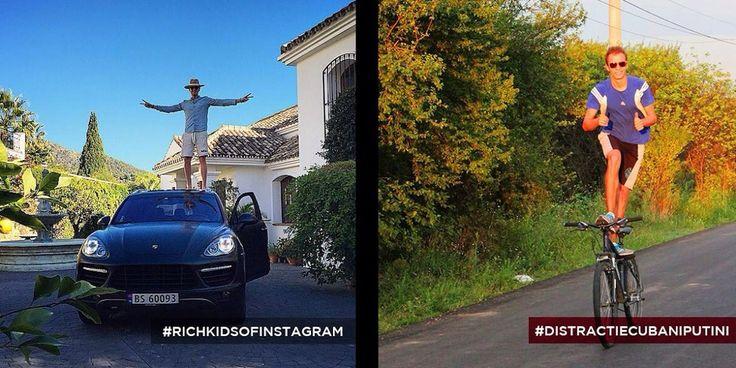 Instagram : les gosses de riches VS Le reste du monde