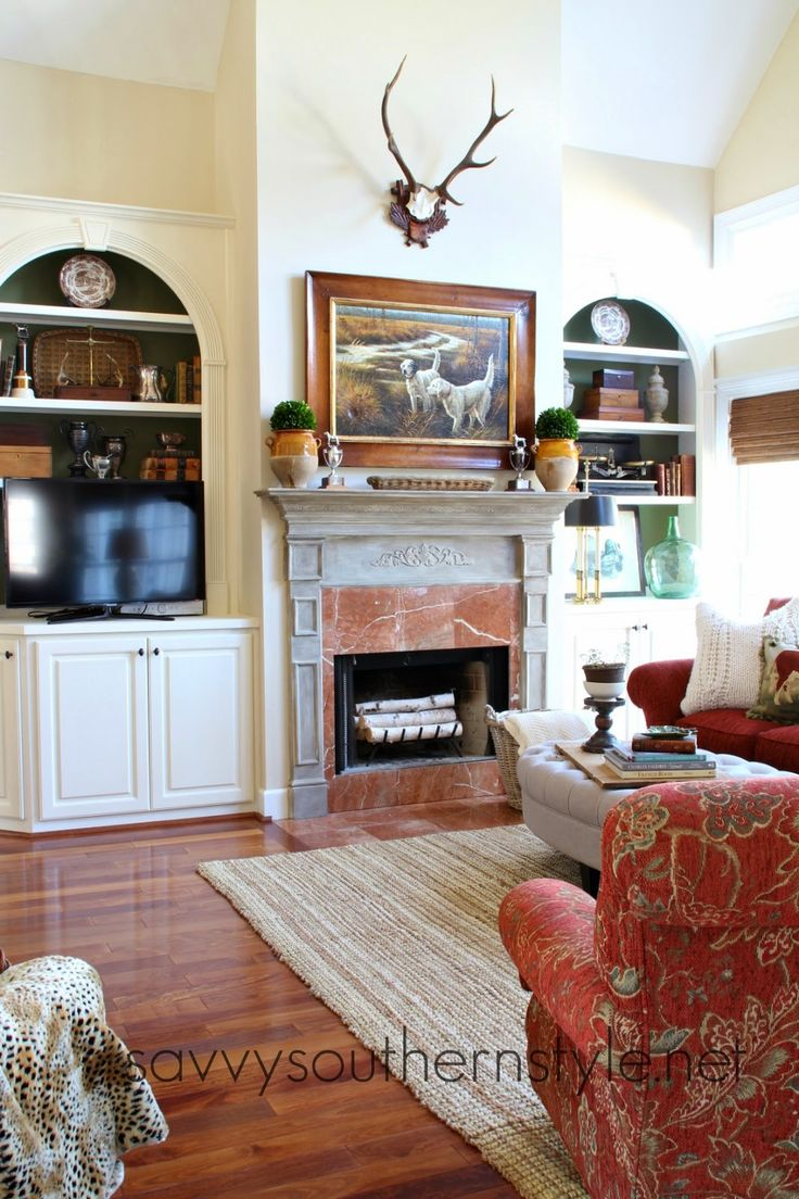 Savvy Southern Style My Home 39 S Paint Colors Great Room