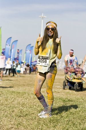 """""""It was so awesome, I can't stop shaking! I did the run just for the fun and the Tomys were awesome too!"""" - Samantha"""