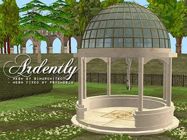 how to build a gazebo sims 4
