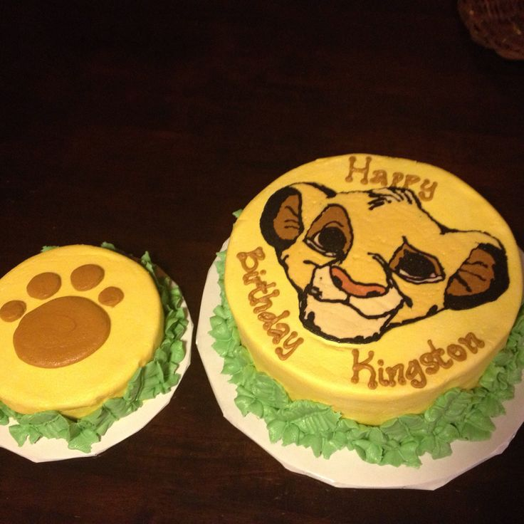 Cakes by Bekah - Lion King cake for first birthday